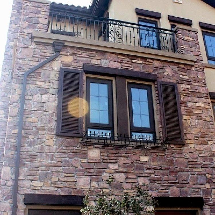 青山别墅外墙砖文化石仿古砖欧式室外通体砖背景墙
