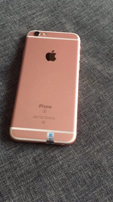 新规则微信!客户手机6s美版玫瑰金64g苹果手机维修苹果图片