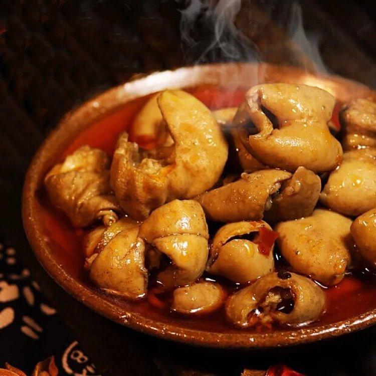 香辣美味零食里脊节子肥肠必备先香糯椒盐猪肥肠广州话读什么图片