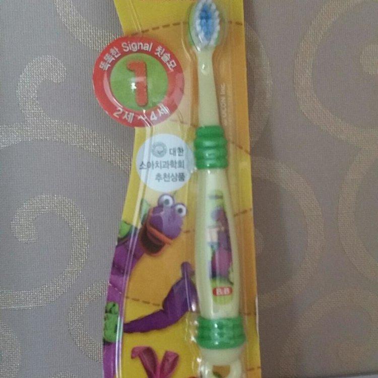 韩国保宁儿童牙刷一段