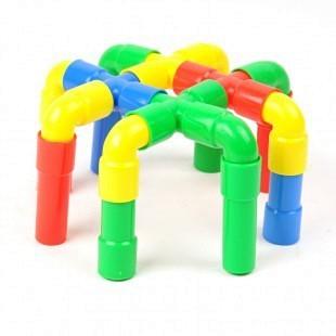 管道可茁积木正品益智创意搭建多年幼儿园积木lego十积木前的玩具图片