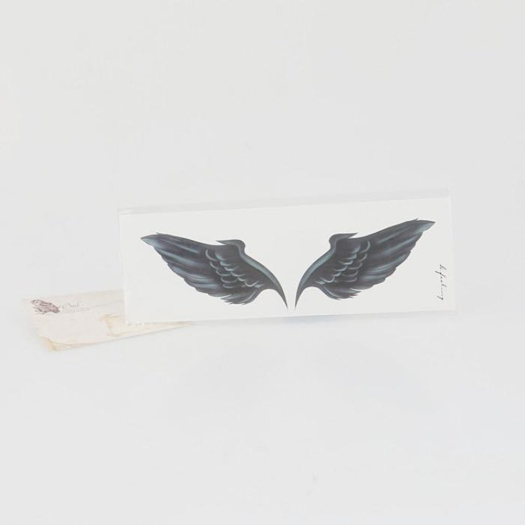 imisscc 原创纹身贴纸 防水 男女款 持久 锁骨翅膀 欧美范 性感