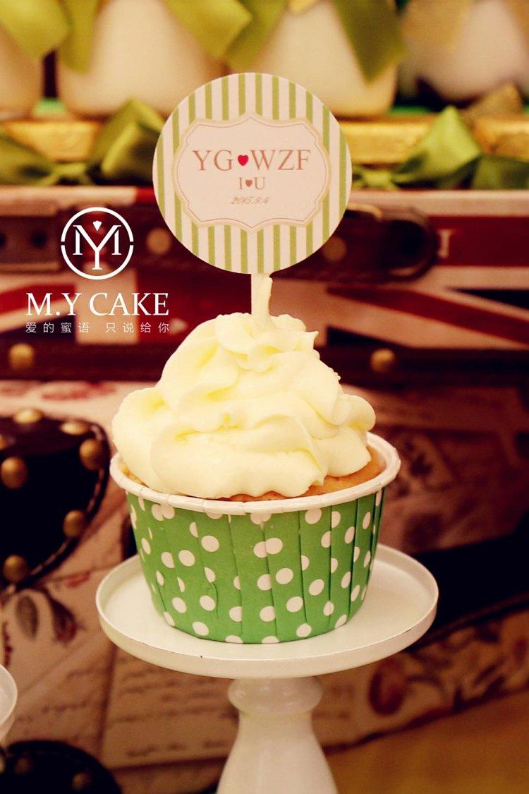 爱的蜜语绿金色欧式主题婚礼甜品设计,五环内免费配送