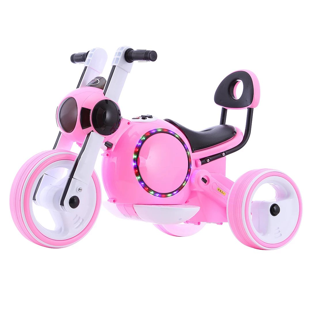 婴幼儿童电动车摩托车1-3岁可坐人充电三轮车男女宝宝玩具车童车