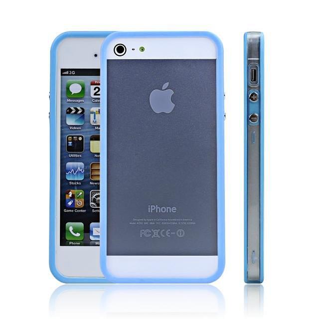 苹果5手机壳iphone5s手机壳时尚边框信号圈保护苹果5s