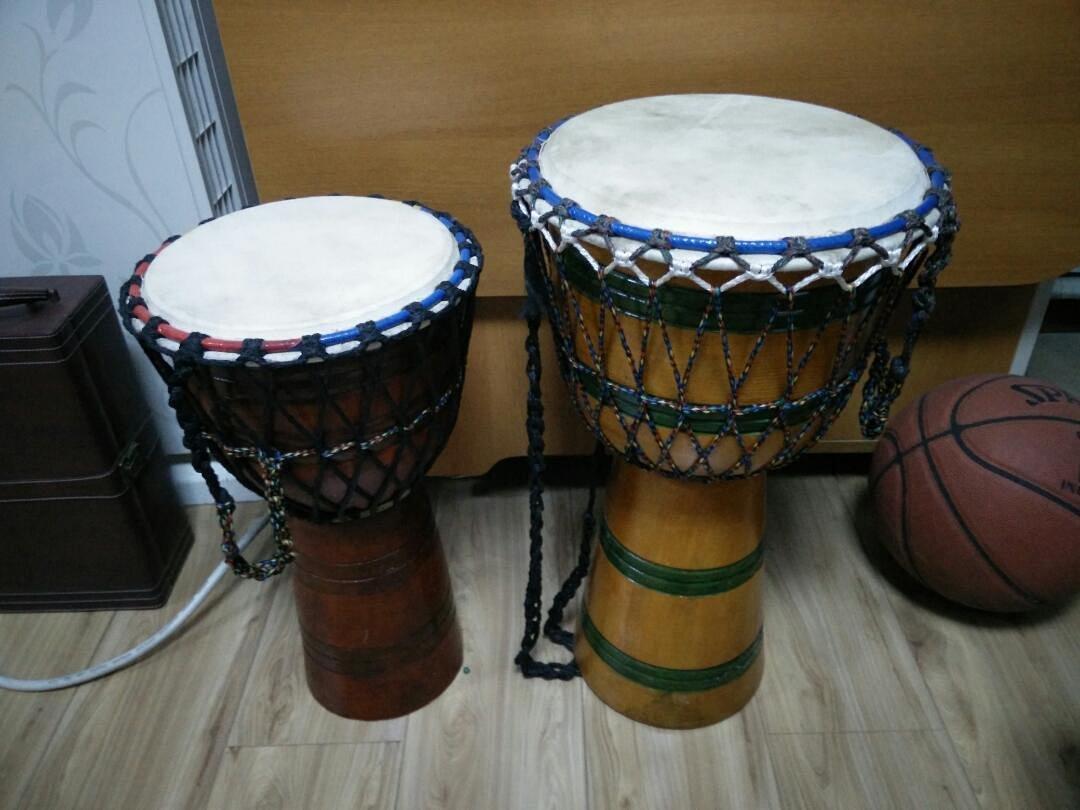 尼泊尔纯手工制作手鼓