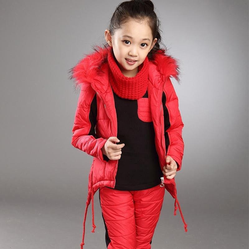 童装秋冬女童套装2014新款儿童运动卫衣加厚保暖卡通