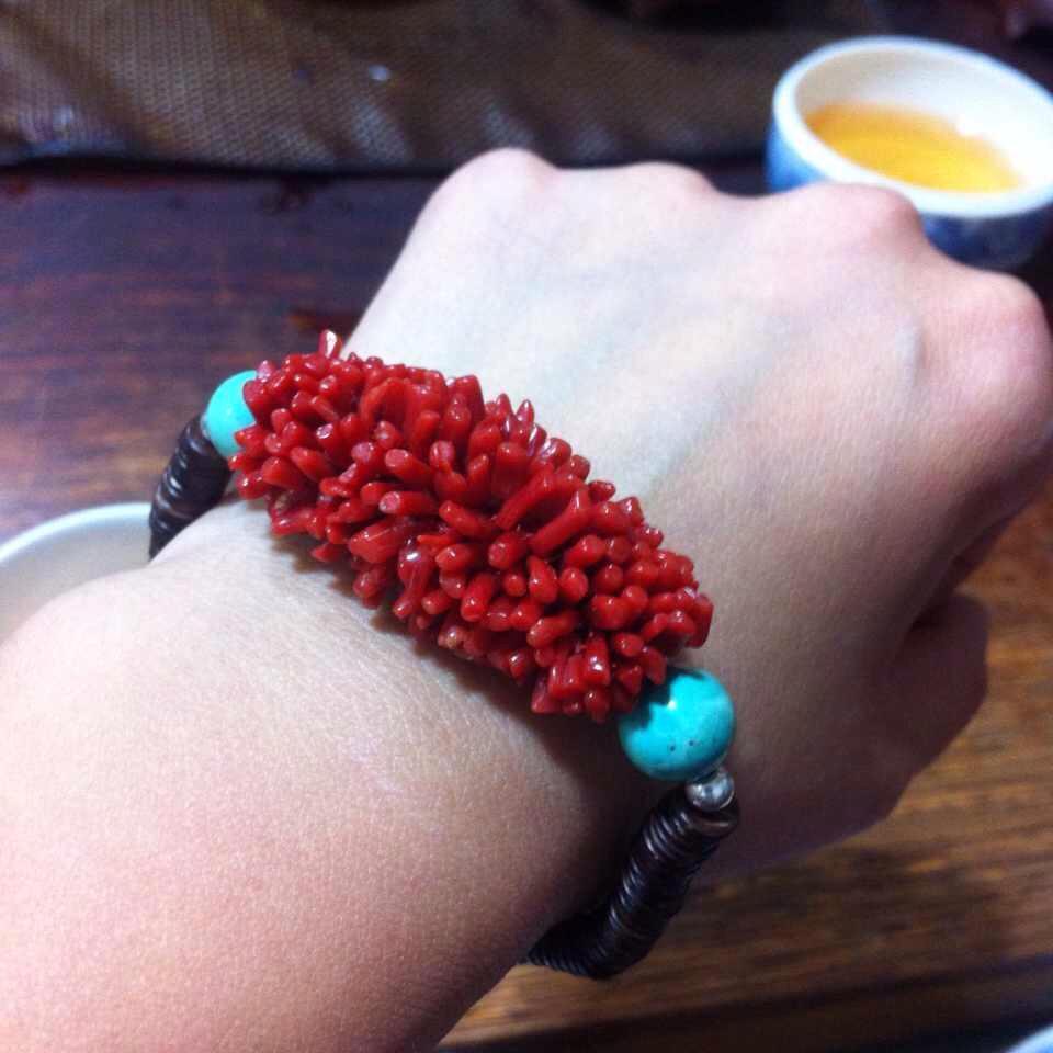珊瑚戒指编法图解