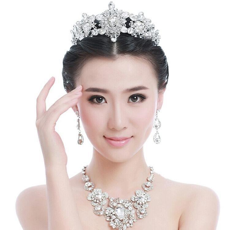新娘婚庆饰品欧美新娘皇冠头饰镂空镶钻结婚发饰婚纱