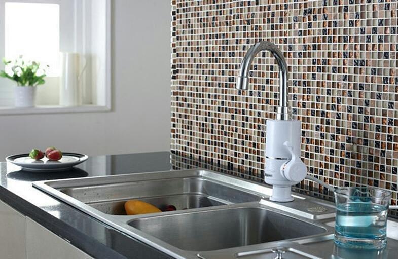 久睿电热水龙头,台下接水,替代水龙头和小厨宝,使用方便,外观时尚,可