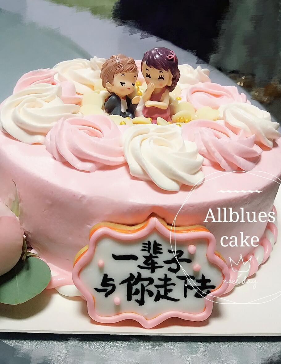 结婚纪念日蛋糕图片_结婚5年纪念日蛋糕图片-结婚5年纪念日蛋糕图片视频-结婚5年纪念 ...
