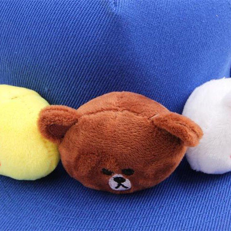 韩版儿童帽子卡通可爱布朗熊小兔嘻哈帽宝宝平沿潮帽