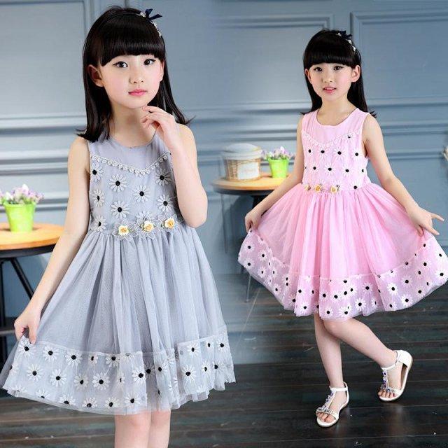 女童夏装韩版小孩衣服宝宝公主裙儿童气质连衣裙子