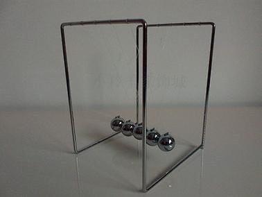 爱迪生 科学小实验科技小制作科学小发明科普培训实验材料牛顿摆