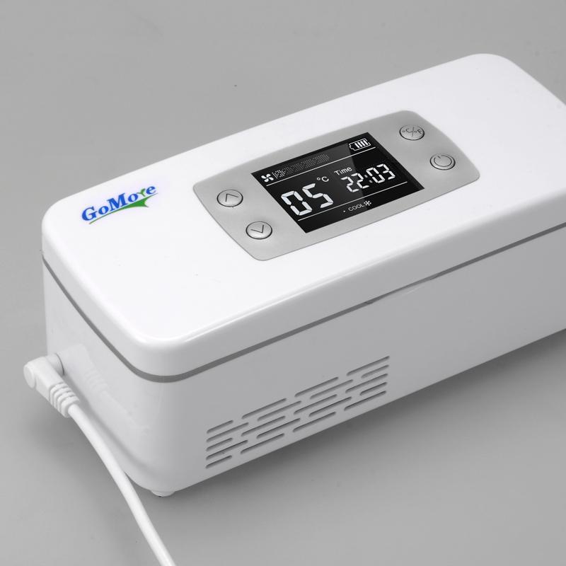 gomore广陌便携式胰岛素冷藏盒 车用充电器双usb输出