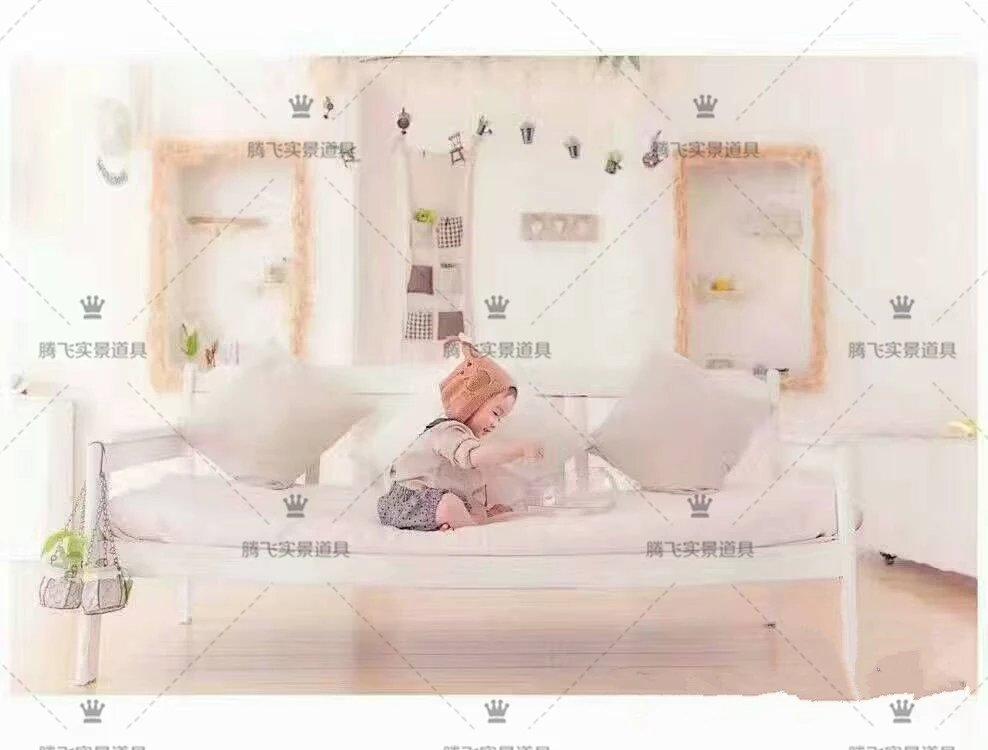 2017新款影楼摄影实景道具婚纱影棚装修设计制作韩式儿童实景