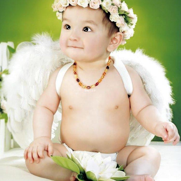 可爱宝宝海报婴儿画报孕妇必备大胎教漂亮宝宝海报
