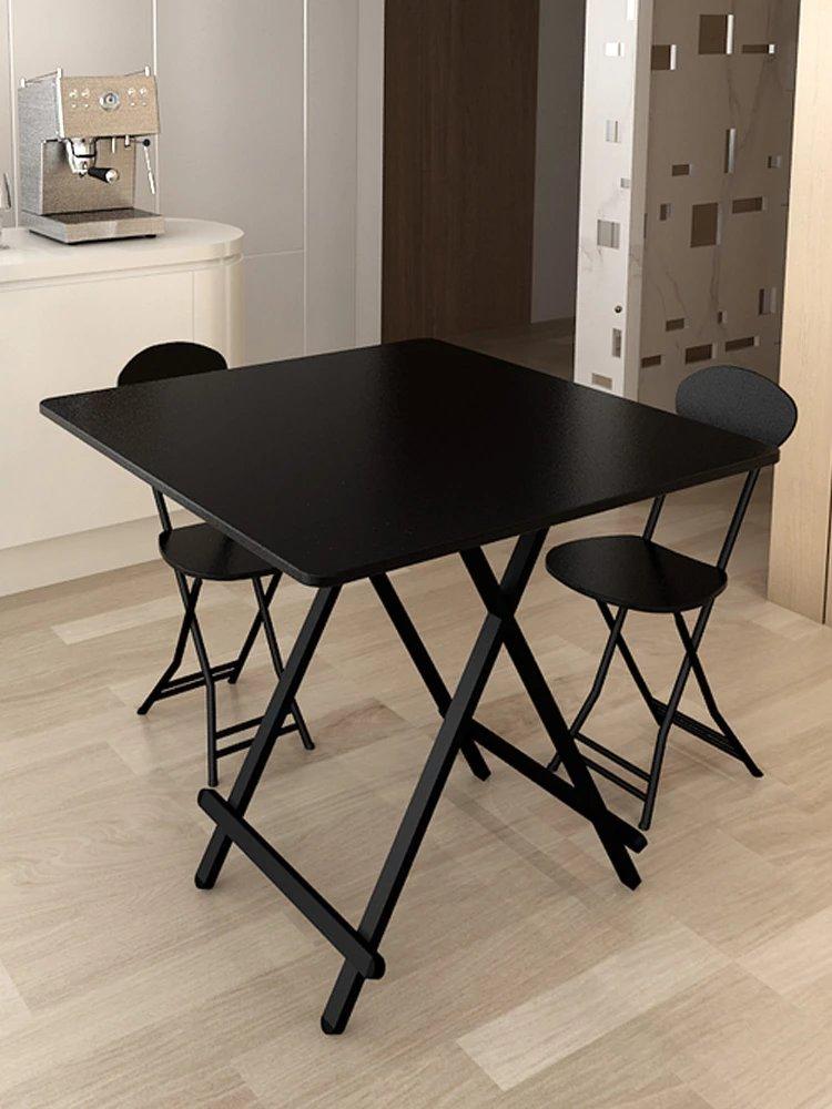 折�B桌子餐桌家用小方桌吃��A形