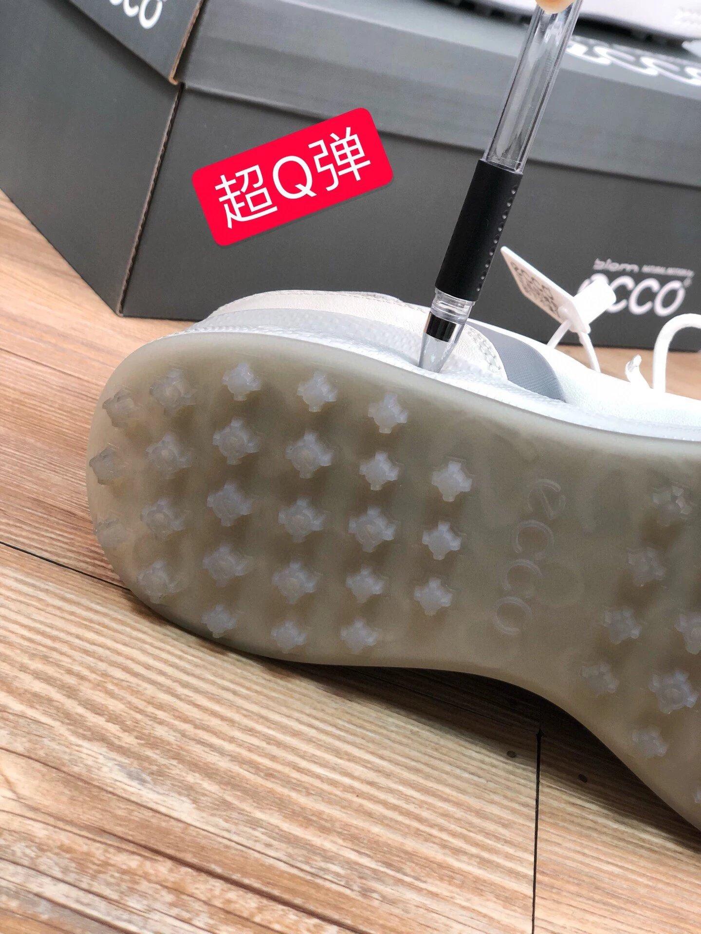 2021年新品、顶级小牛皮!ECCO爱步 防滑高尔夫球鞋男鞋 460元包邮(官网类似款2000+) 买手党-买手聚集的地方