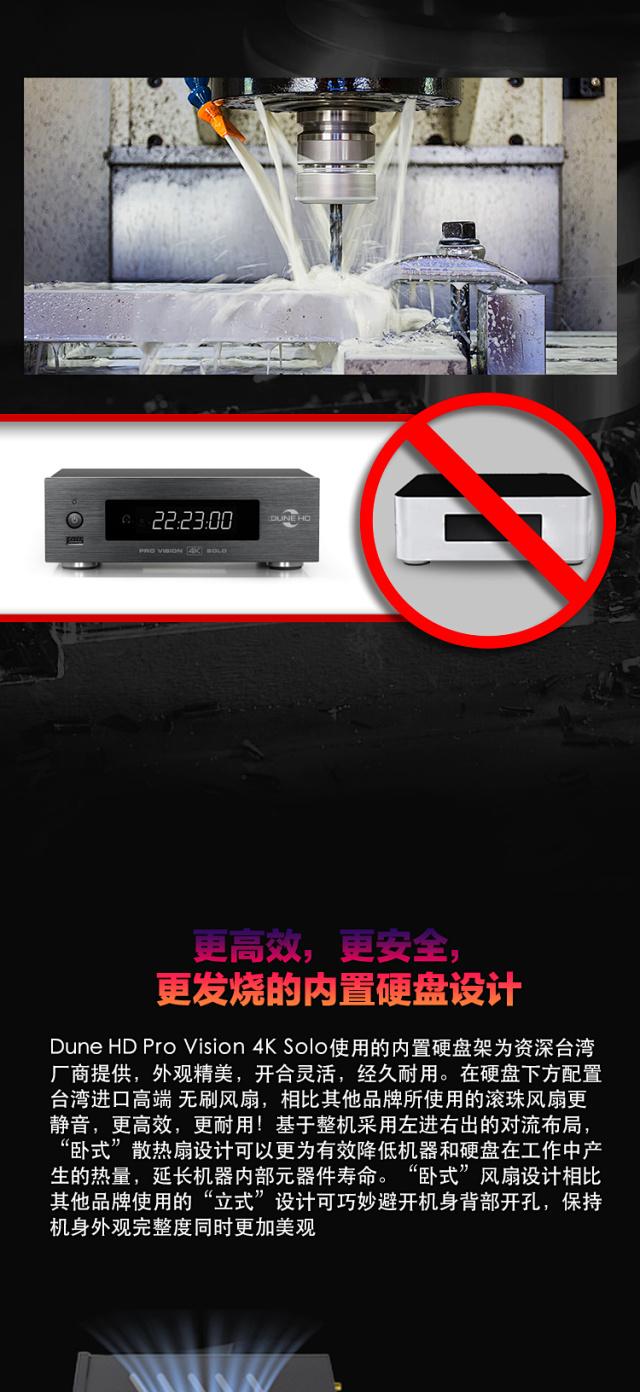 应该是目前最值得拥有的发烧蓝光播放机-杜恩HD 4K SOLO VISION  为发烧而生。插图(4)