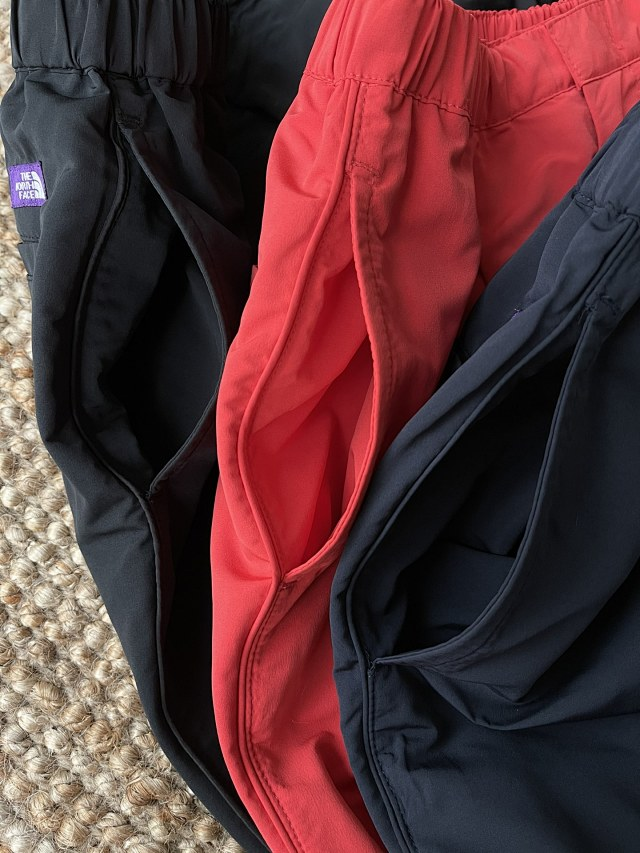 超透气,少见带拉链!日本 TNF 紫标 情侣款户外机能防水九分裤 团购价199元包邮(代购1200元) 买手党-买手聚集的地方