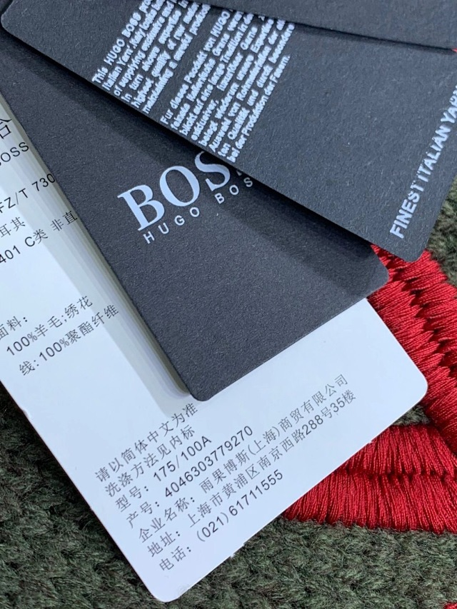 李易峰上身同款、800克重纯羊毛:雨果博士 重磅重工刺绣毛衣 团购价439元包邮(线下6700元) 买手党-买手聚集的地方