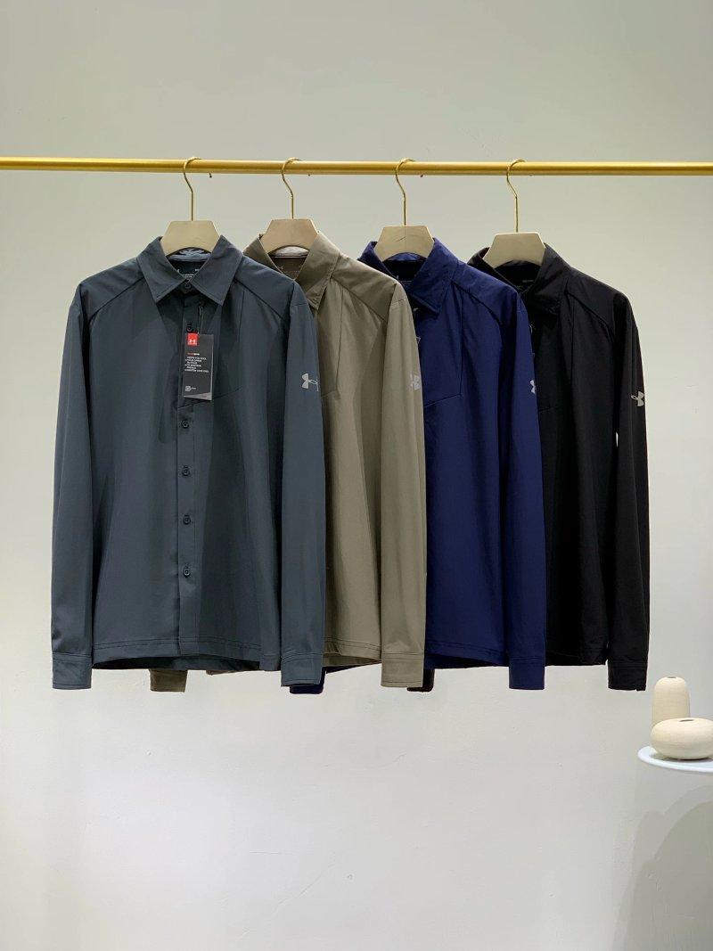 高级成衣系列、秋季才上市!UA SELECT系列 运动衬衫 团购价219元包邮 买手党-买手聚集的地方