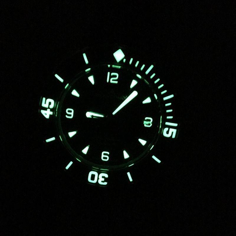 我是N厂神器宝珀五十噚系列腕表,我为超高制表工艺代言 - 37表业