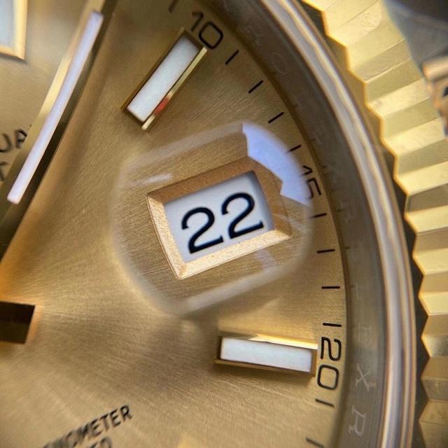 Vs日志41mm 牙圈 3235机芯 三珠904精钢 72小时动能储存 vs间金日志插图11