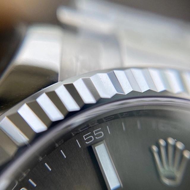 Vs日志41mm 牙圈 3235机芯 三珠904精钢 72小时动能储存 vs灰面日志插图15