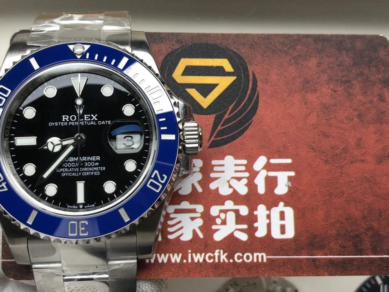 VS 新品蓝鬼 41mm 3235机械表机芯插图1