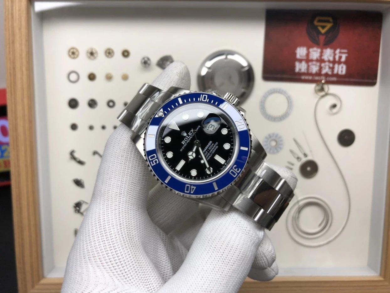 VS 新品蓝鬼 41mm 3235机械表机芯插图2